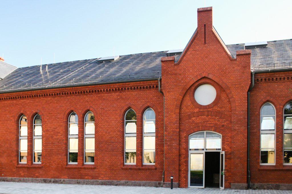 Das Sonnenschutz Rollo wird eingesetzt für Gebäude mit Denkmalschutz